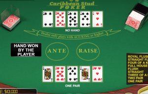 A Glance at Online Casino Option – Caribbean Stud Poker